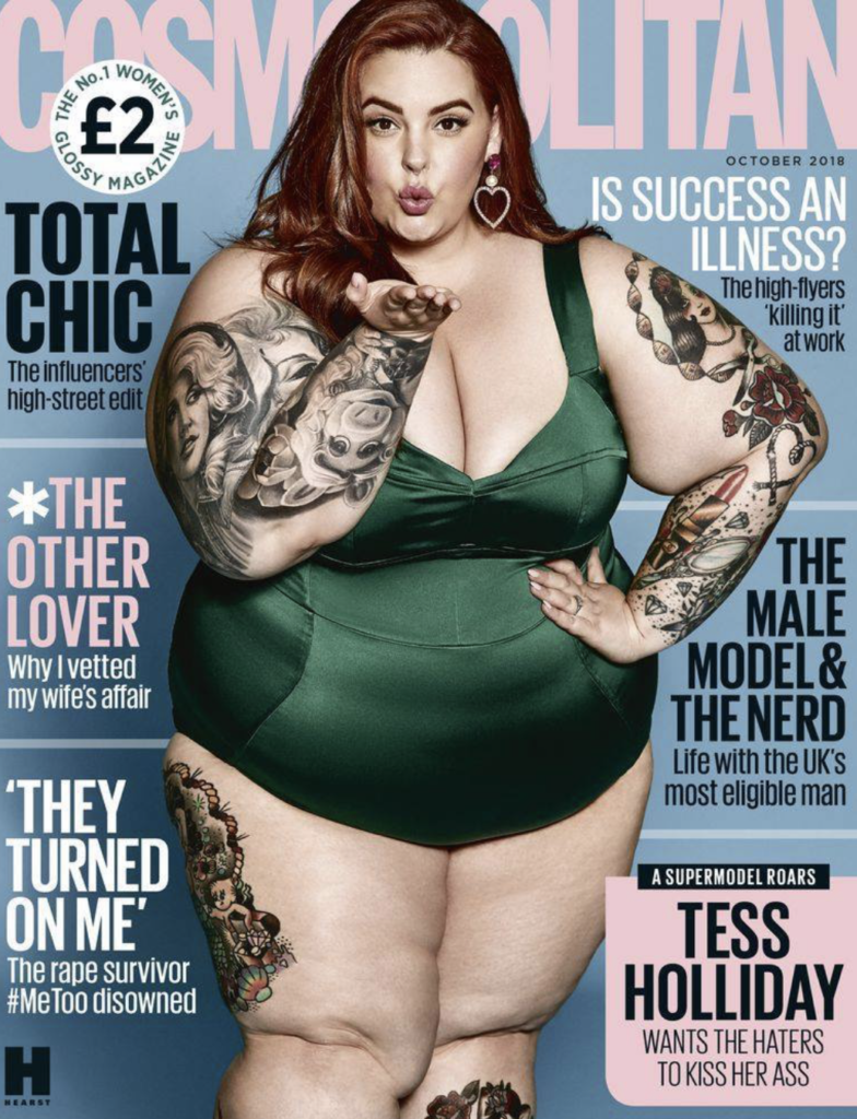 This image has an empty alt attribute; its file name is The-importance-of-plus-size-model-Tess-Holliday's-Cosmopolitan-cover-Women's-Media-Center-784x1024.png